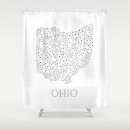 Ohio LineCity W Shower Curtain
