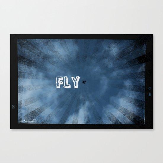 FLY! Canvas Print