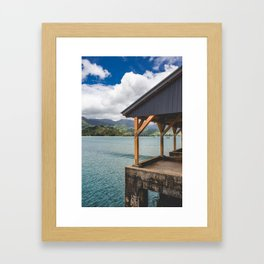 Kauai Bay Framed Art Print