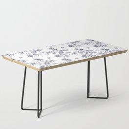 Penis Pattern Coffee Table