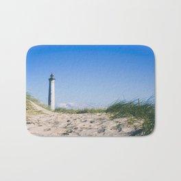 Nantucket Beach Lighthouse Bath Mat