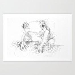 croak Art Print