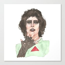 Frank N Furter Canvas Print