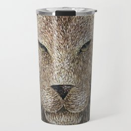 Lion Painting Travel Mug