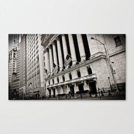 Exchange Canvas Print