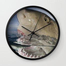 Lemon Shark Snap Wall Clock