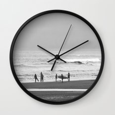 Before surfing Wall Clock