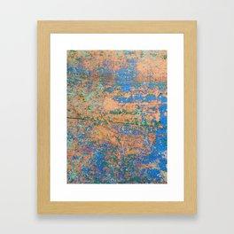 Aegean Colors (part 2) Framed Art Print