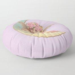 Victorian Moon Angel Floor Pillow