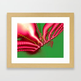 Pink N Green Framed Art Print