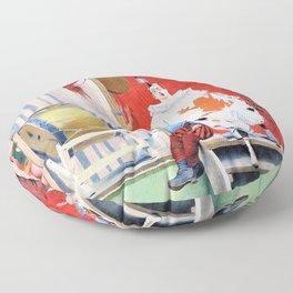 12,000pixel-500dpi - Fernand Pelez - Grimaces and misery - The Saltimbanques Floor Pillow