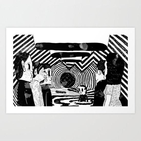 """Reflektor"" by Steven Fiche Art Print"