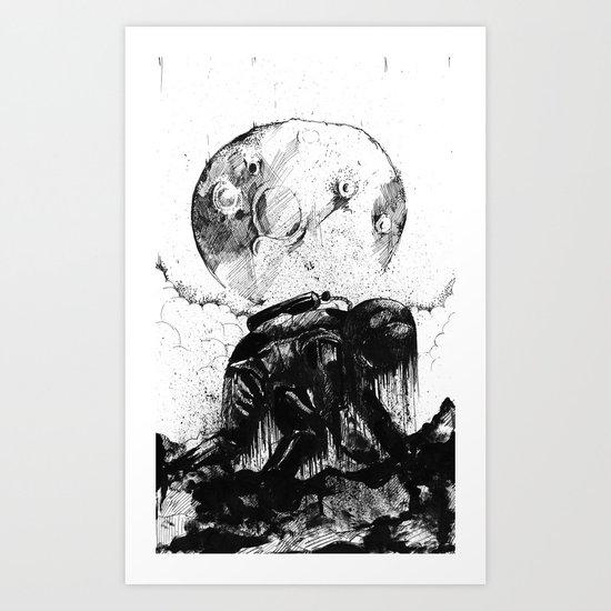 Kosmonauts regret Art Print