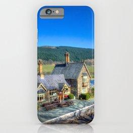 Carrog Railway Station iPhone Case