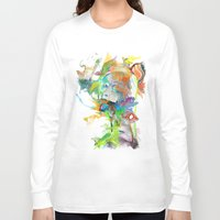 archan nair Long Sleeve T-shirts featuring Morning Echo by Archan Nair