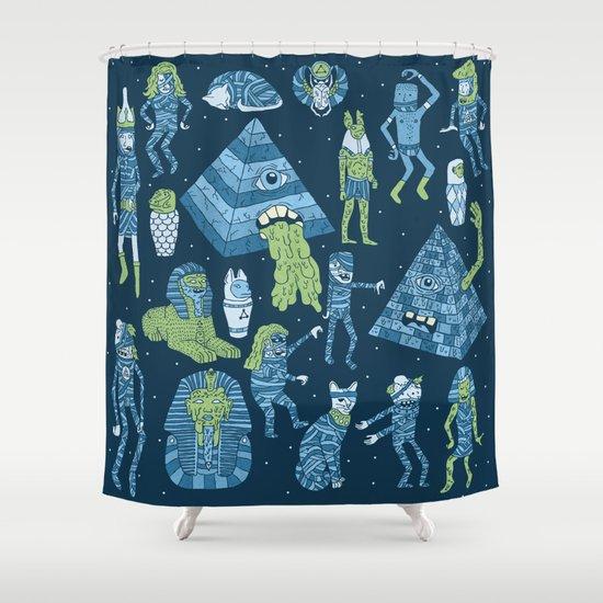 Wow! Mummies! Shower Curtain