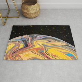 Space Abstract Rug