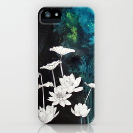 Lotus Study iPhone Case