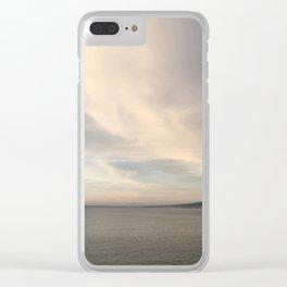 Mount Vesuvius Clear iPhone Case