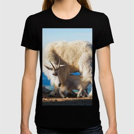 Mountain Goats Nanny And Kid T-shirt