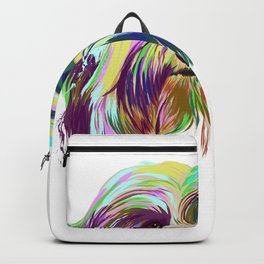 Havanese Dog splash Backpack