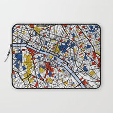 Paris Mondrian Laptop Sleeve