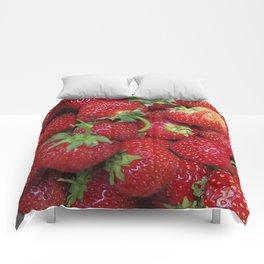Strawberry Season Comforters