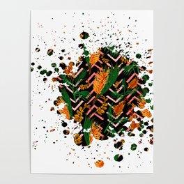 Australian Native Floral Graphic Print Poster