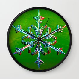 Flakey Wall Clock