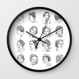 OLD HOLLYWOOD SERIES Wall Clock