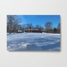 Wildwood Manor House II Metal Print