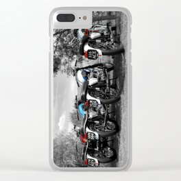 The Bonneville Four Clear iPhone Case
