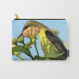 Beautiful sunbird Carry-All Pouch