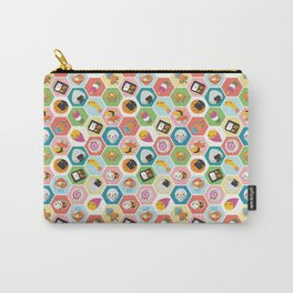 Kawaii Colorful Japanese Food Carry-All Pouch
