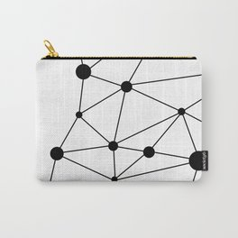 Minimalist Geometric 2 Carry-All Pouch