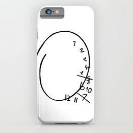 Nbc Hannibal - clock iPhone Case