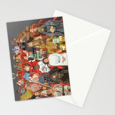 Strarwars at the movies Stationery Cards