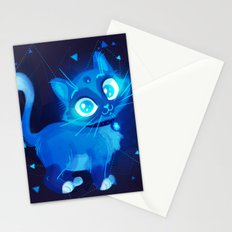 Sapphire Kitty Stationery Cards