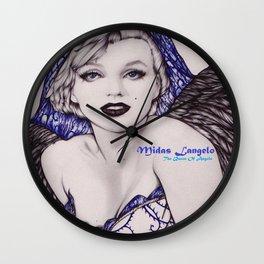 The Queen Of Angels (Solus Deus Scit) Wall Clock