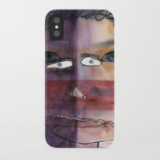 I feel shy iPhone X Slim Case