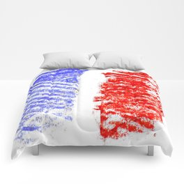 Flag of France 13- France, Français,française, French,romantic,love,gastronomy Comforters