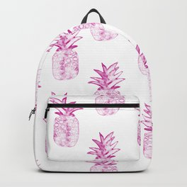 Pink Power Pineapple Backpack