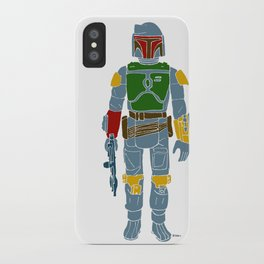 My Favorite Toy - Boba Fett iPhone Case