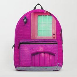 fuchsia house Backpack
