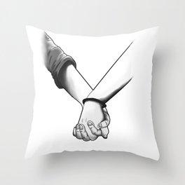 Take my hand Throw Pillow