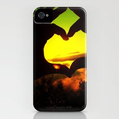 Heart Hands Forever Slim Case iPhone (4, 4s)