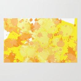 paint drops Rug