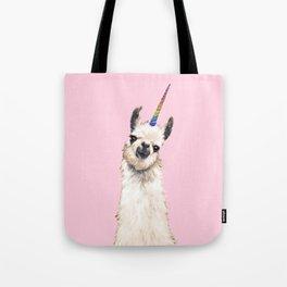Unicorn Llama Tote Bag
