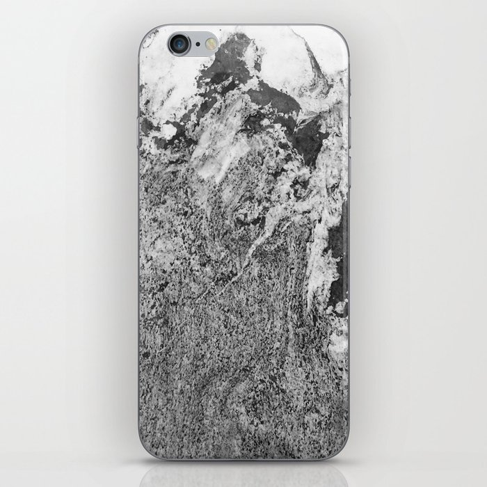 Marble Mountain Black and White I iPhone Skin