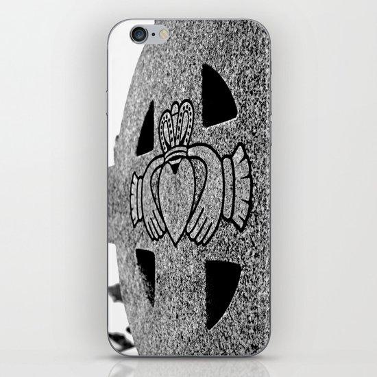 Winter Claddagh iPhone & iPod Skin